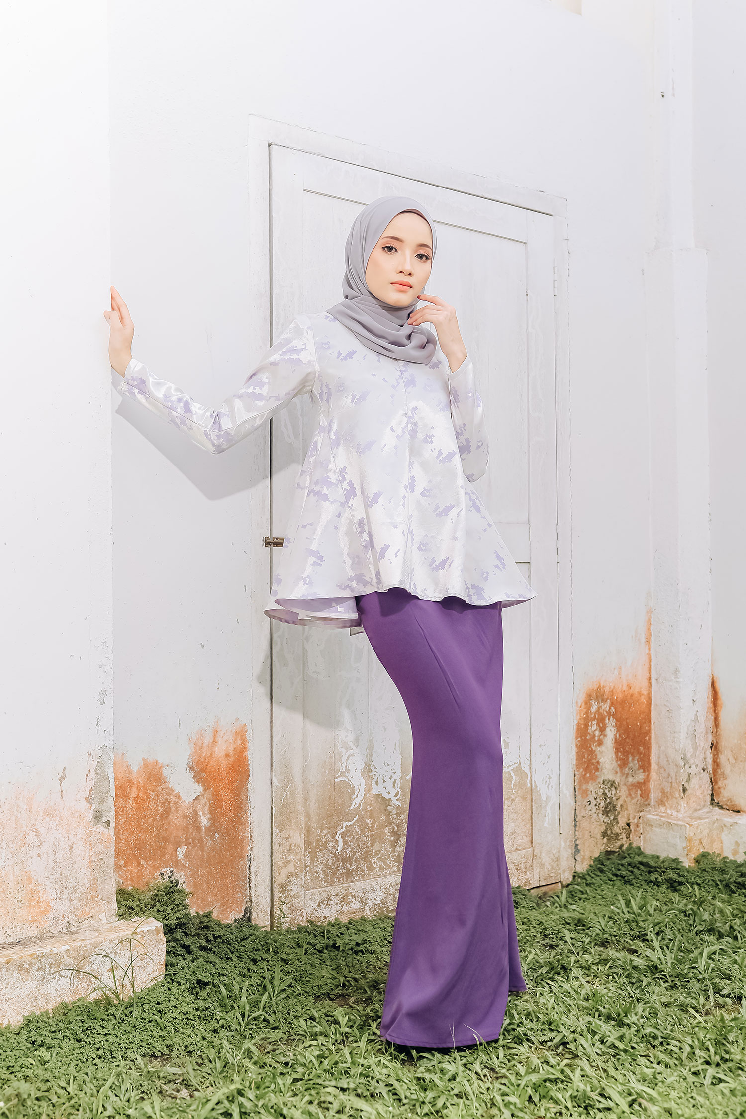 AIRIS KURUNG – LILAC PURPLE