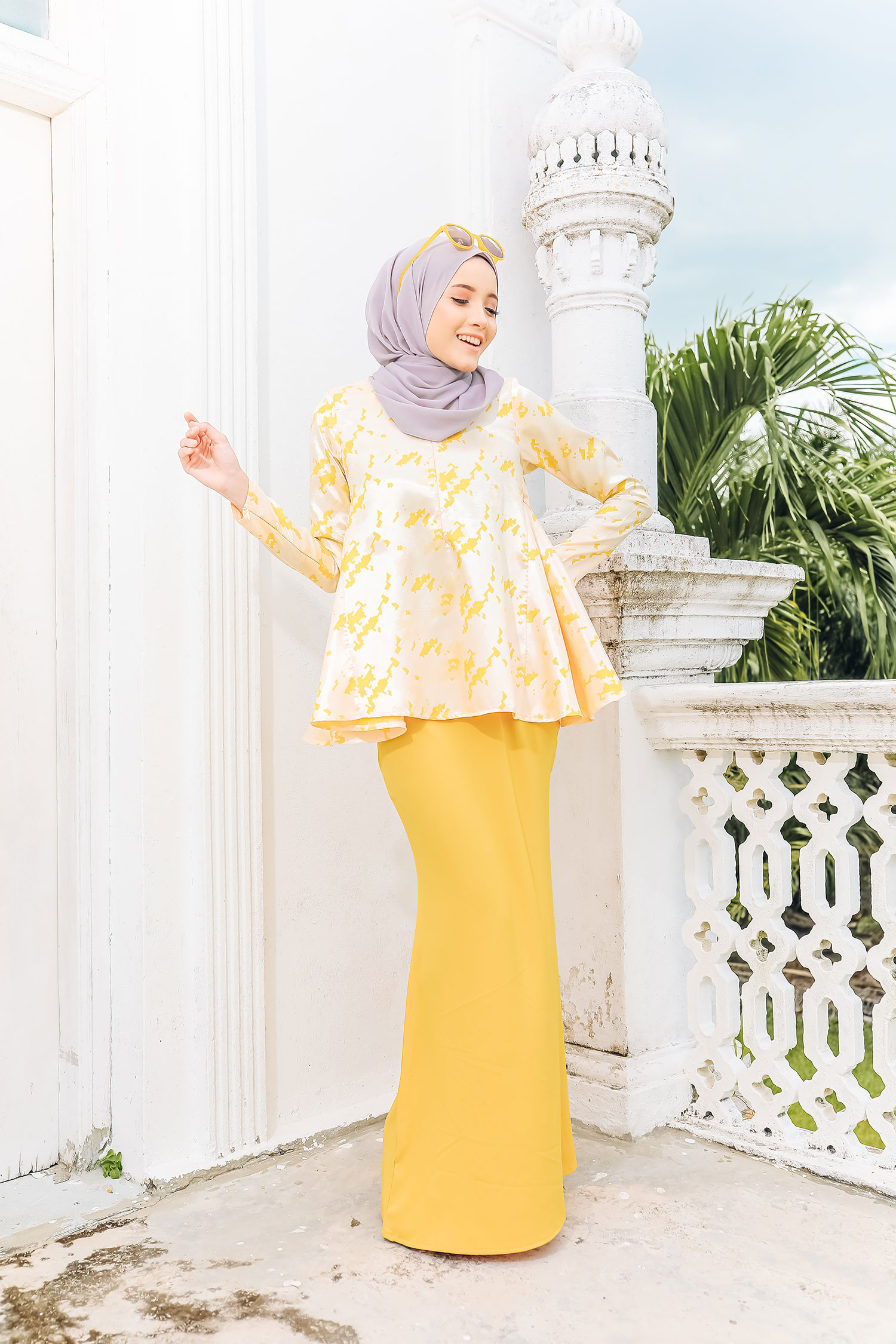 AIRIS KURUNG – HONEY YELLOW