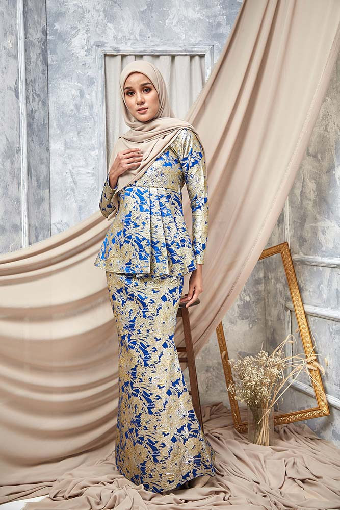 DEENA KURUNG – ROYAL BLUE