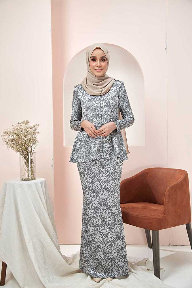 ROSSA KURUNG – GREY (BUY 1 FREE 1)