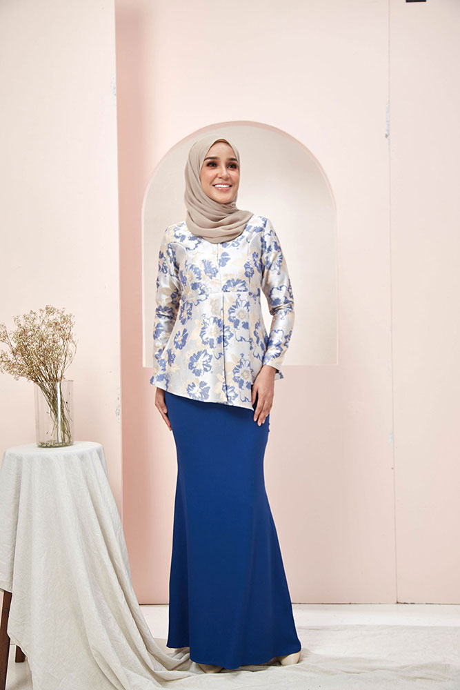 NILAM KURUNG – MIDNIGHT BLUE