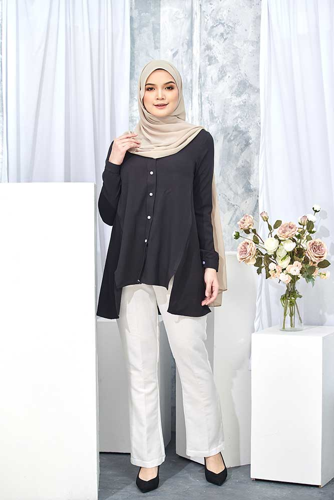HELDA BLOUSE – BLACK