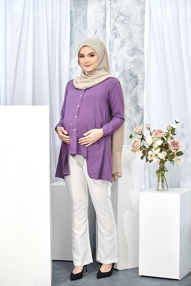 HELDA BLOUSE – PURPLE