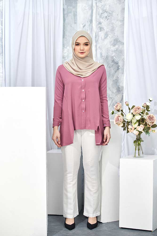 HELDA BLOUSE – ORCHID (FLASH SALE)