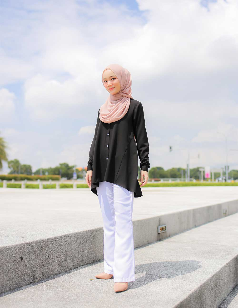 MARY BLOUSE – BLACK (PRE ORDER W. EARLY BIRD PRICE)