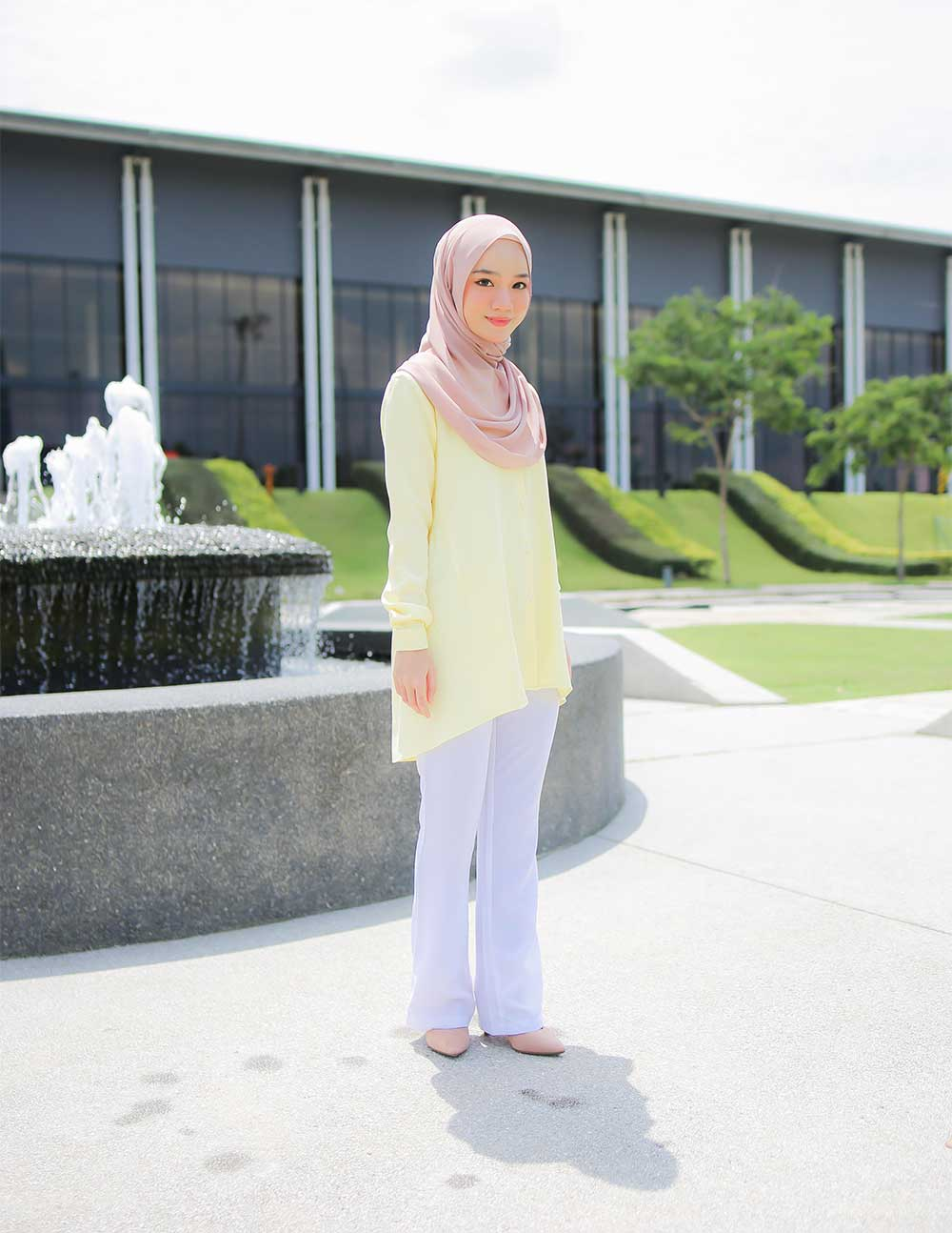 MARY BLOUSE – SOFT YELLOW (PRE ORDER W. EARLY BIRD PRICE)