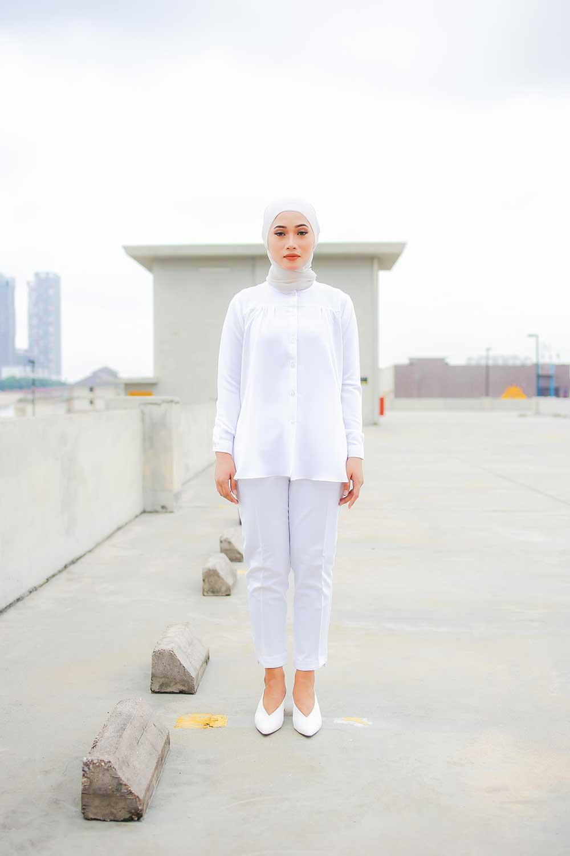IVY BLOUSE – WHITE