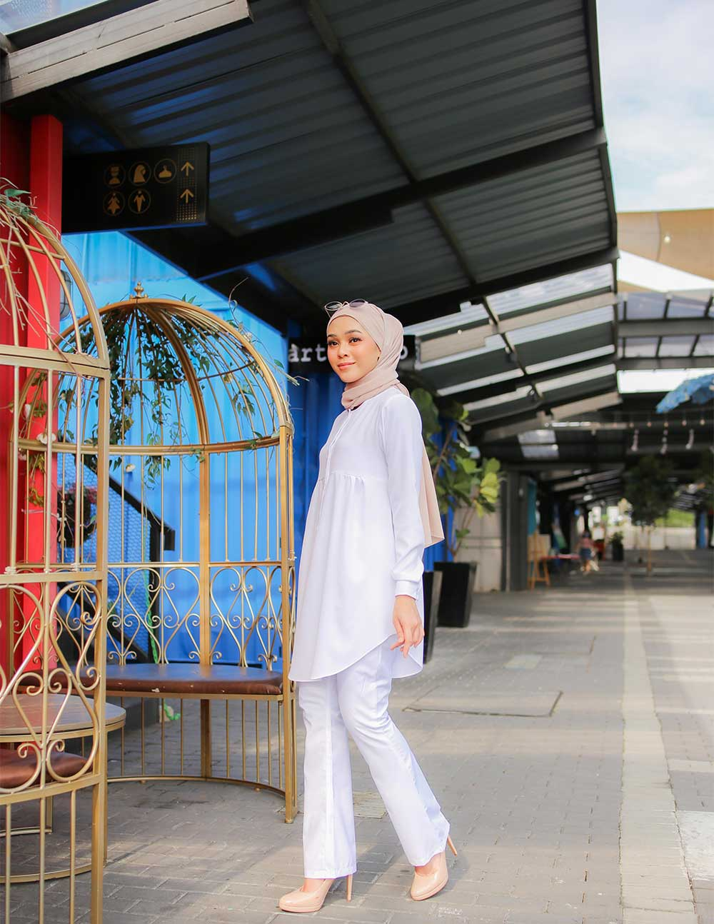 AUFA BLOUSE – WHITE