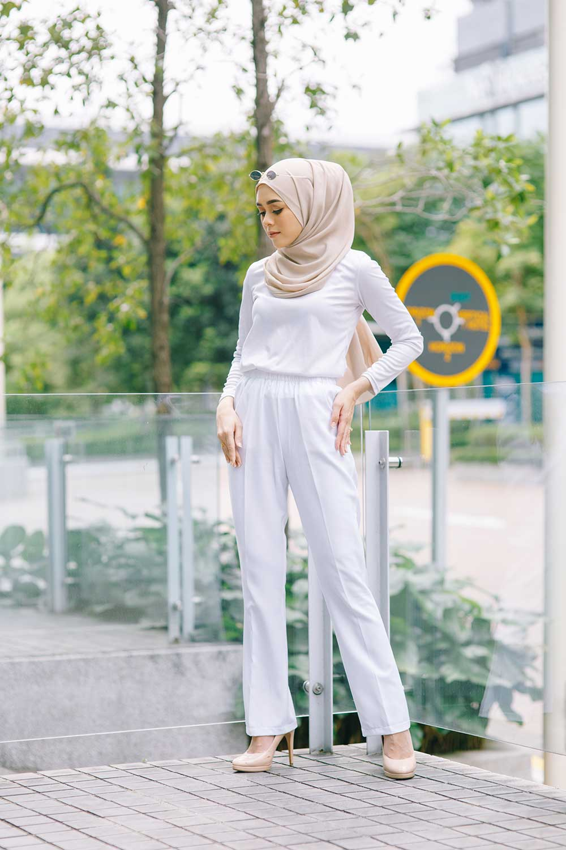 LALA PANT – WHITE