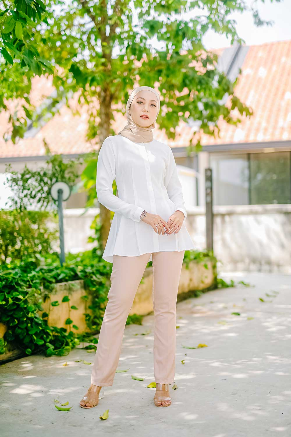 NOVA BLOUSE – WHITE