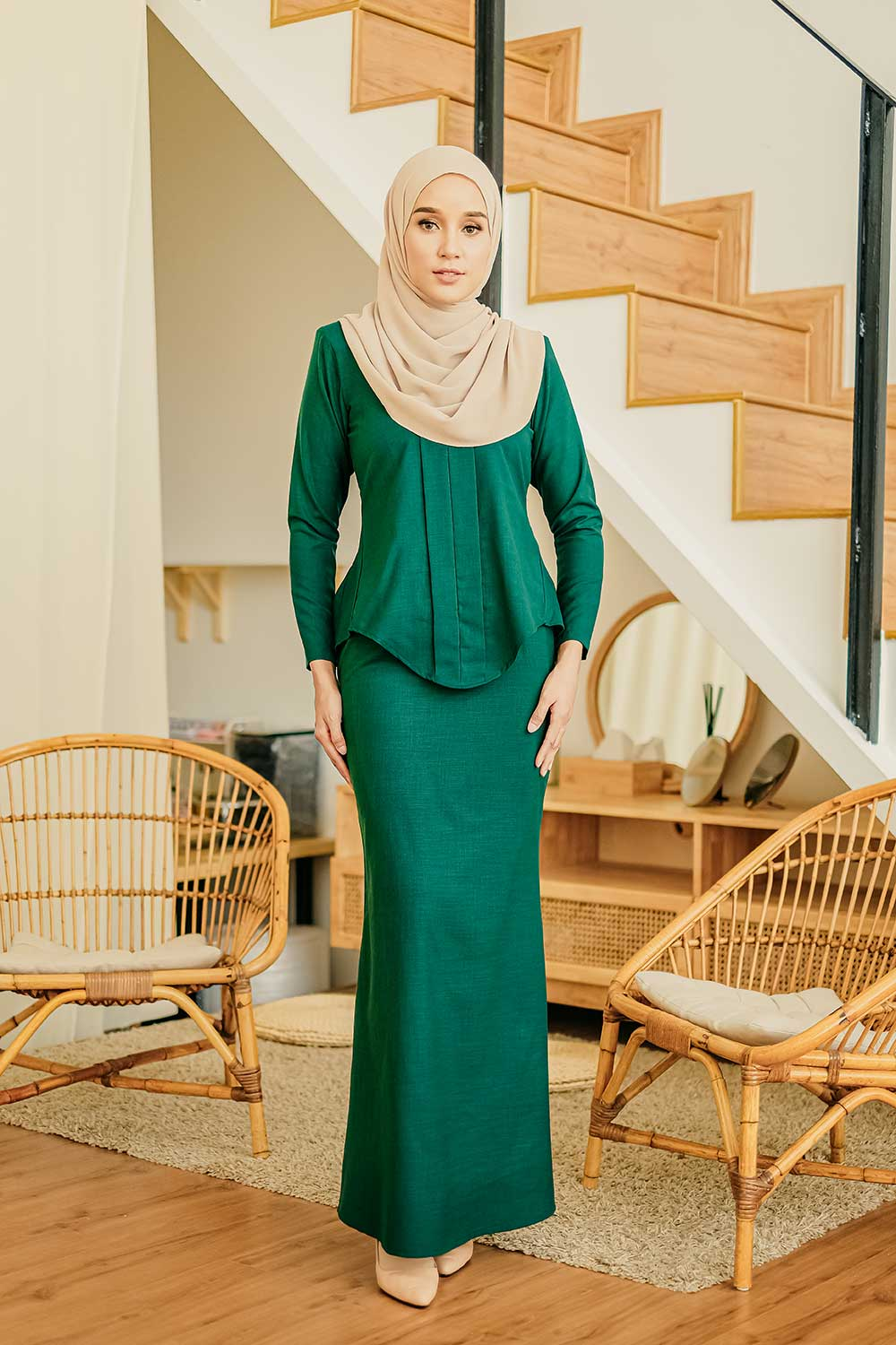 CITRA KEBAYA – EMERALD GREEN